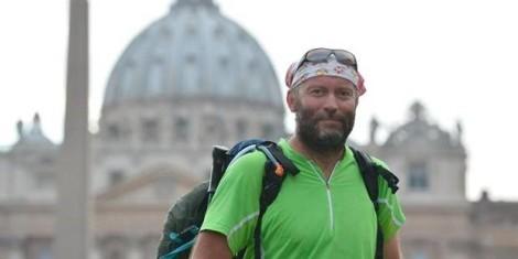 Padre Vesin em Roma