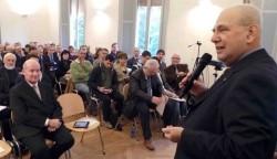 """Conferência """"A Cruz e o Compasso"""" em Ferrara, Itália"""