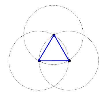 triangulo-e-circulos