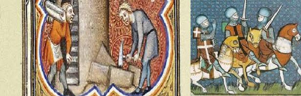 pedreiros vs cavaleiros
